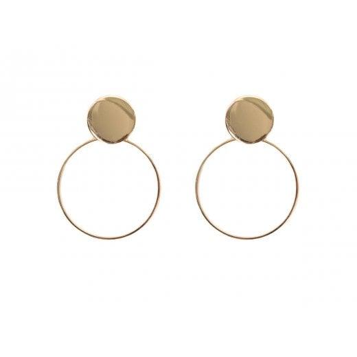 Danish Collection Samira Circle Earrings