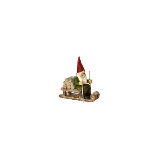 Danish Collection Santa on Sledge - 10cm