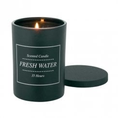 "Danish Collection Scented Candle ""Fresh Water"""