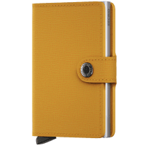 Danish Collection Secrid Mini Wallet  Crisple Amber