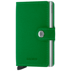 Danish Collection Secrid Mini Wallet Light Green
