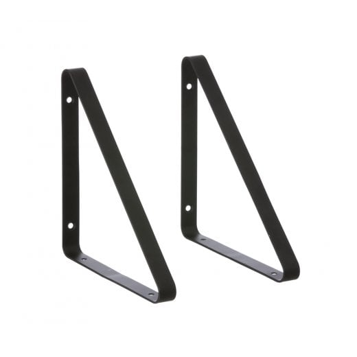 Danish Collection Shelf Hangers - Black