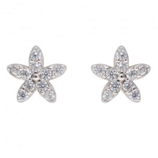 29a6b7295 Danish Collection Silver Flower Stud Earrings - Danish Collection from Danish  Concept Stores Limited UK