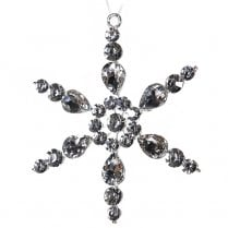 Danish Collection Silver Sparkle Snowflake