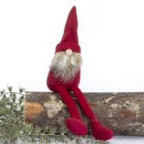 Danish Collection Small Carl Elf with Legs - Red H22CM