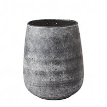 Danish Collection Small Glass Vase - Grey