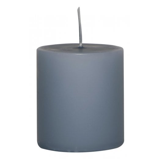 Danish Collection Small Plain Candle - Pigeon Blue