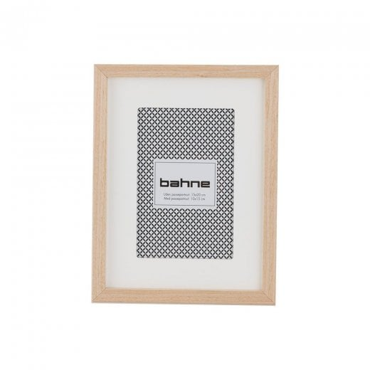 Danish Collection Small Thin Photo Frame - Wood