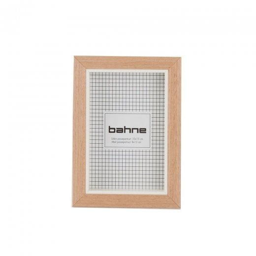 Danish Collection Small Wide Photo Frame - Wood