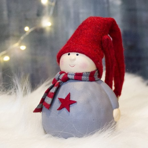 Danish Collection Tahera Star Gnome - Red