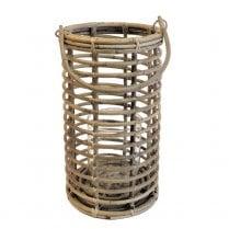 Danish Collection Tall round Grey Lantern