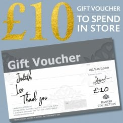Danish Collection Thank You Gift Voucher - £10.00