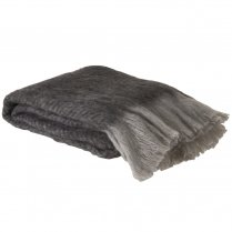 Danish Collection Throw 125x150cm Grey