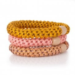 Danish Collection Trio of Hair Ties