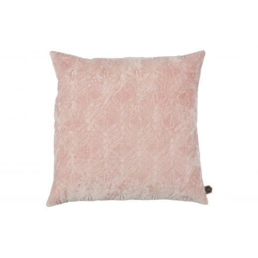 Danish Collection Twig Velvet Cushion - Blossom