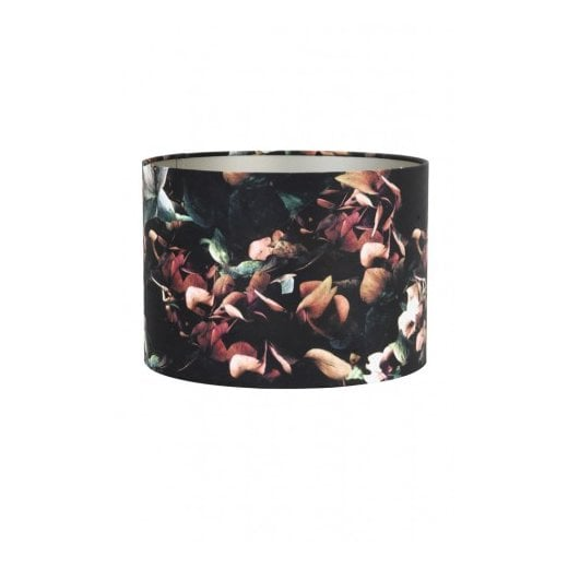 Danish Collection Velour Shade - Black Hydrangea