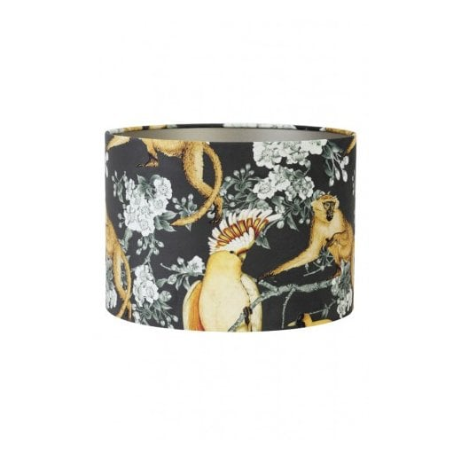 Danish Collection Velour Shade - Parrot Jungle