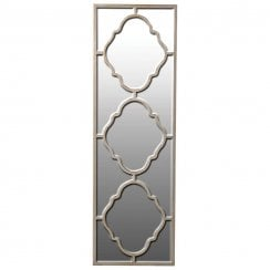 Danish Collection Venetian Alhambra Tall Mirror - Gold