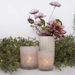 Danish Collection Votive Small - Blush Pink H8cm