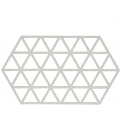 Danish Collection Warm Grey Triangles Trivet