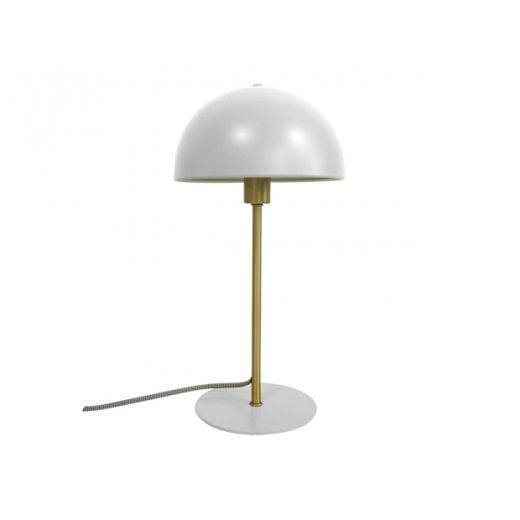 Danish Collection White Bonnet Table Lamp