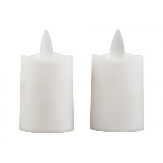 Danish Collection White LED Candles
