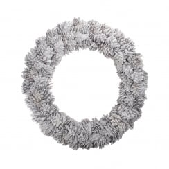 Danish Collection White Pine Cone Wreath