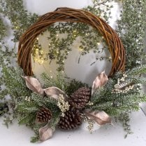 Danish Collection Willow Wreath - D40cm