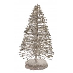 Danish Collection Wire Christmas Tree - Silver