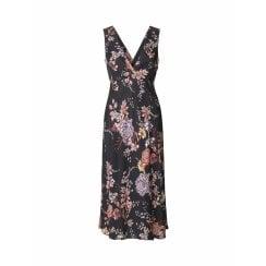 Day Birger et Mikkelsen/2ND Day Day Femina Dress in Black Floral Print