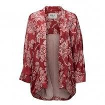 Day Birger et Mikkelsen/2ND Day Mellow Floral Print Kimono - Red
