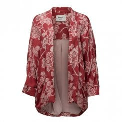 Day Birger et Mikkelsen/2ND Day Mellow Floral Print Kimono - Red