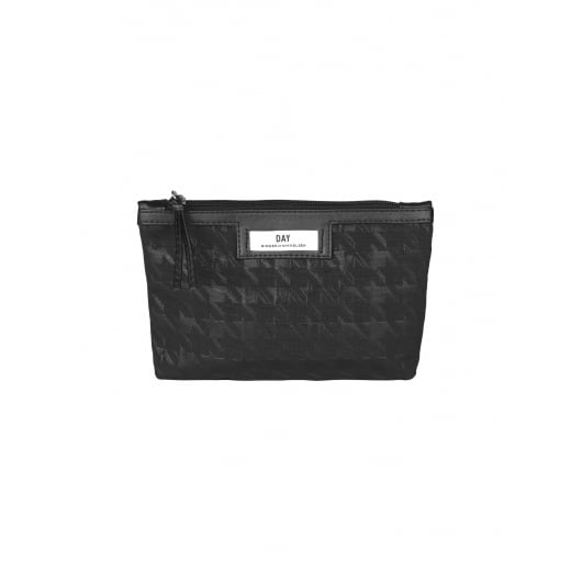 Day Birger et Mikkelsen Day Gweneth Checked Mini Cosmetic Bag - Black