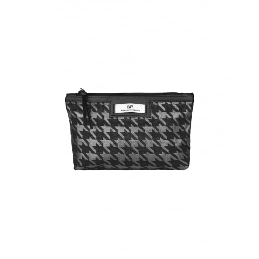 Day Birger et Mikkelsen/2ND Day Day Gweneth Checked Mini Cosmetic Bag Silver