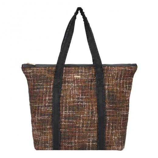 Day ET Day Gweneth Tweed Bag - Potting Soil Brown