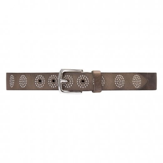 Depeche Jeans Belt with Studs - Taupe