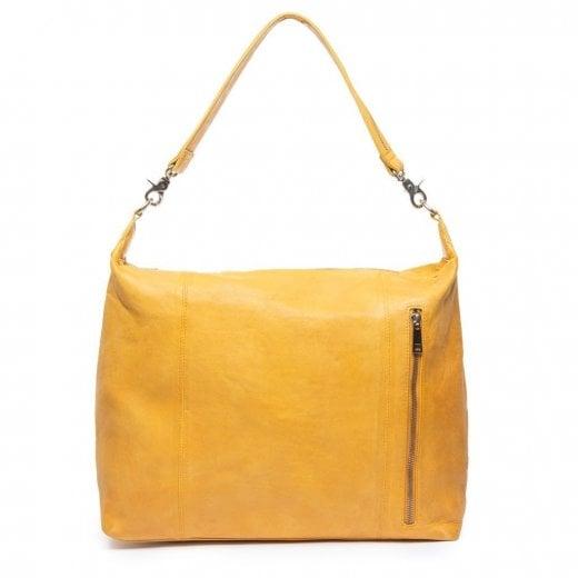 Depeche Medium Leather Bag - Yellow