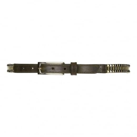 Depeche Narrow Leather Belt