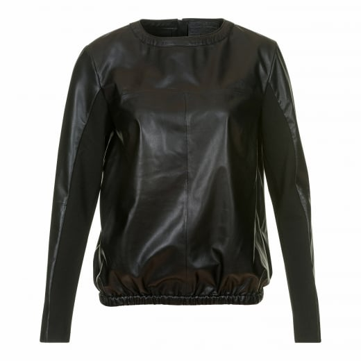 Depeche Sporty Leather Top