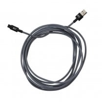 Designletters MyCable Extra Long Lightning Cable - Grey 3 mtr