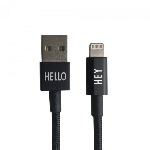 Designletters MyCable Lightning Cable 1MTR - Black