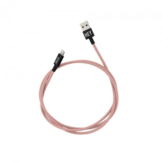 Designletters MyCable Lightning Cable - Nude 1 Mtr