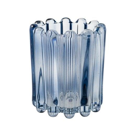 Eight Mood Nizza Large Candle Holder - Blue