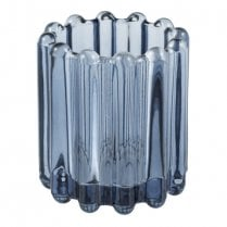 Eight Mood Nizza Small Candle Holder - Blue