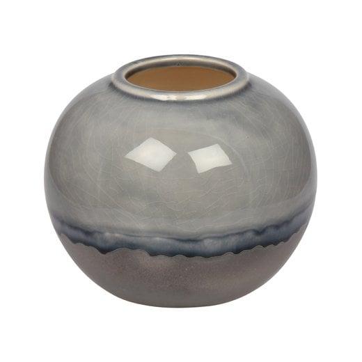 Eight Mood Rumble Vase - Blue/Silver