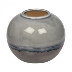 Eight Mood Rumble Vase - Blue/Silver
