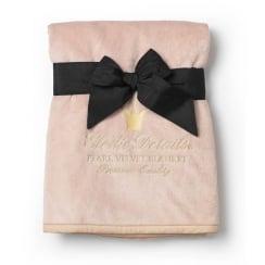 Elodie Details Pearl Velvet Blanket - Powder Pink