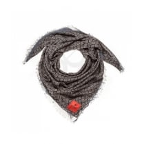 erfurt Black silk scarf