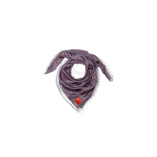 erfurt Boysenberry silk scarf
