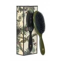 Fan Palm Medium Hairbrush - Army